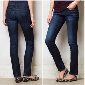 AG Stevie Slim Straight Ankle jeans